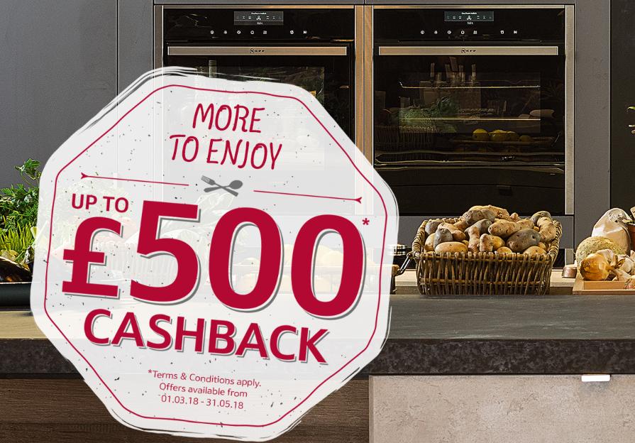 Claim Up To £500 Cashback*